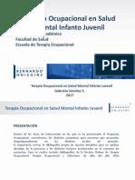 TERAPIA OCUPACIONAL - Terapia Ocupacional en Salud Mental Infanto Juvenil (1).pptx