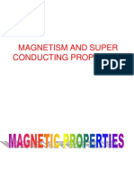 Magnetism & Superconductivity