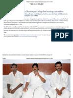 AIADMK Men Convicted in Dharmapuri College Bus Burning Case Set Free - The Hindu