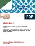 FÓRMULAS INFANTILES