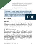 GOUARDÈRES- La Política de Investigación y Desarrollo Tecnológico [UE]