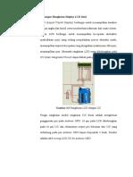 Perancangan Rangkaian Display LCD 16x2