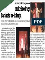 VV 1 Svibnja 2018 Broj 3826 Pehgradske Kronike Predrag Darabos