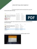 Instal Program Aplikasi SWI