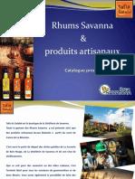 Catalogue produits tafia (actualisé nov 2018)