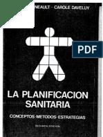 1994 Pineault & Daveluy - La Planificación Sanitaria