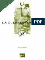 Vilar, Pierre. 'La guerre d'Espagne'. Que sais-je. Puf. 2000~ (90p).epub