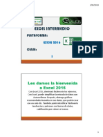 Excel Intermedio 1