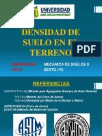 03 Determinacion de La Densidad de Campo y Contenido de Humedad