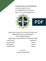 Crime File Management System Report