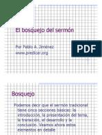 El bosquejo del sermón bosquejo.pdf