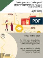 SDG7 Presentation