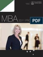 University of Adelaide Business School MBA Programs 2011