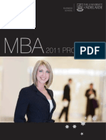 University of Adelaide Business School MBA Programs 2011