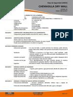 Msds - Fibra de Vidrio