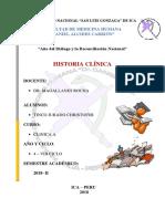 Historia Clinica Tinco