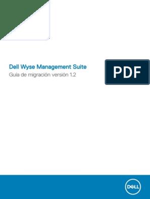 Wyse Wms Administrator Guide6 Es Mx | Microsoft Sql Server