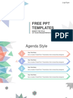 Abstract Leaves PowerPoint Template