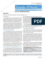 Editorial on Advances in Artificial Heart