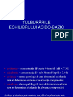 ATI RO Rez 09 - Tulburarile echilibruluiu acidobazic.ppt