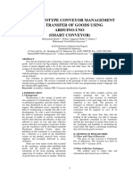 International Journal of (The Prototype Conveyor Management the Transfer of Goods Using)
