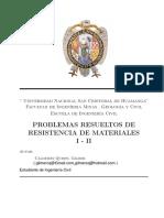 Problemas resueltos de Resistencia de Materiales I – II (1).pdf