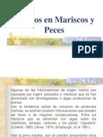 Toxicos en Mariscos y Peces