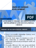 109969417 Anne Roe s Theory of Occupational Choice (1)