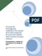 Proyecto de Investigación Cualitativa 21-2