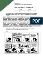 Prueba en Linea n4 de Lenguaje y Comunicacion