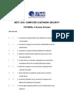 Tutorial 4 BETC3433 Answer Scheme