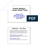 Covalent Bonding & Molecular Orbital Theory
