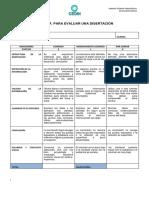 Rubrica Para Evaluar Una Disertación (1)