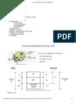 3- La Classification Des Sols - Caractéristiques