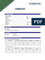 Ficha de admisión Posgrado 2018.docx