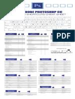 Photoshop Cheat Sheet Print Friendly 2018
