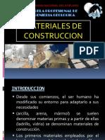 Capitulo III Materiales de Construccion