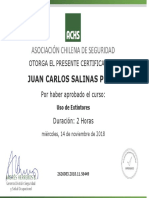 certificado achs