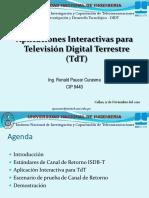 Aplicaciones Interactivas Para Televisión Digital