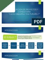 Evaluacion de Proyectos y Consultoria