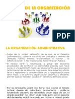 Diapos Finales - La Organización Administrativa