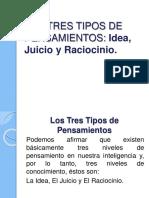 Tres tipos de pensamientos Ideas, Juicio y Raciocinio.pdf