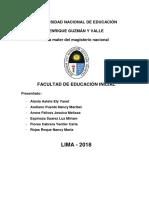 Historia de La Educacion Infantil