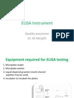 Elisa Instrument Dr Mirja Lili