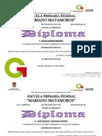 Diplomas Sexto