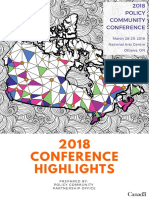 2018 Policy Community Conference