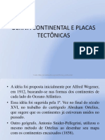 Deriva Continental e Placas Tectônicas