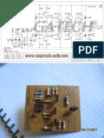 Amplificador CES 741