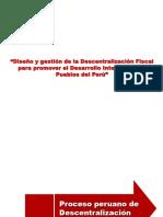 Clase 4 La Descentralizacion en El Peru