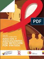 Guia de Atencion Integral Adultos y Adolescentes Con Infeccion VIH - 2013